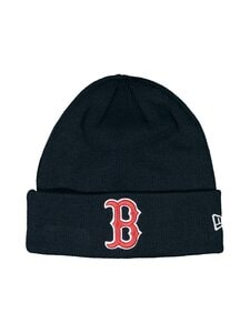 New Era - MLB Essential Cuff Knit Boston Red Sox -pipo - OTC | Stockmann