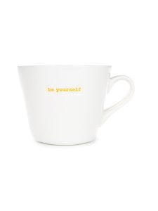 Keith Brymer Jones - Word Range Standard Bucket Mug -muki 0,35 l - WHITE | Stockmann