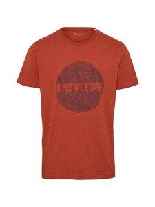 Knowledge Cotton Apparel - Alder-paita - 1316 RUST MELANGE   Stockmann