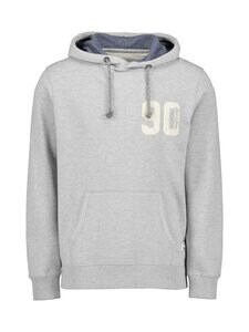 Jack & Jones - Jj30Structure Application Sweat Hood -huppari - COOL GREY FIT:REG / MELANGE | Stockmann