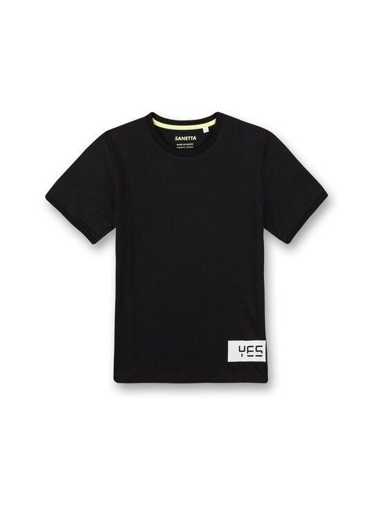 Sanetta - Athleisure Skate T-Shirt -paita - 10015 SUPER BLACK | Stockmann - photo 1