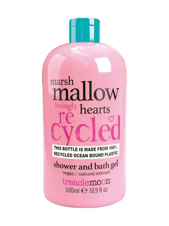 Treaclemoon - MARSHMALLOW HEARTS Shower & Bath Gel -suihkugeeli 500 ml - NOCOL   Stockmann - photo 1