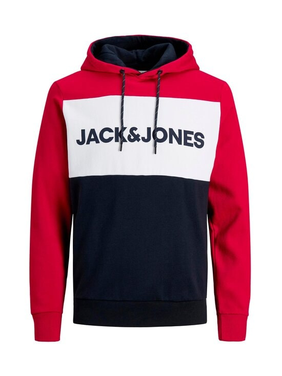 Jack & Jones - JjeLogo Blocking -huppari - TANGO RED | Stockmann - photo 1