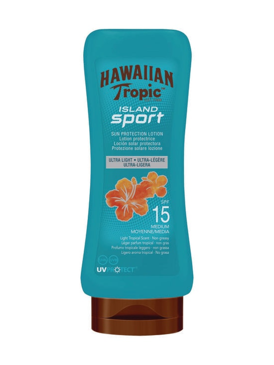 Hawaiian Tropic - Island Sport Lotion SPF 15 -aurinkovoide 180 ml - NOCOL | Stockmann - photo 1