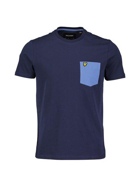 Contrast Pocket T-Shirt -paita