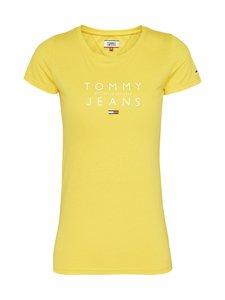Tommy Jeans - Tjw Essential Logo Tee -paita - ZGQ STAR FRUIT YELLOW | Stockmann
