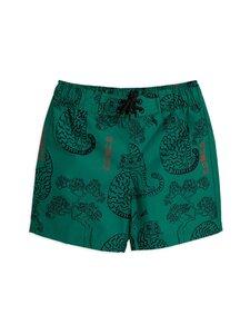Mini Rodini - Tigers Swim Shorts -uimashortsit - GREEN | Stockmann
