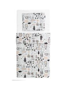 Familon - Kaverit-pussilakanasetti vauvalle 80 x 125 cm + 35 x 45 cm - MONIVÄRINEN | Stockmann