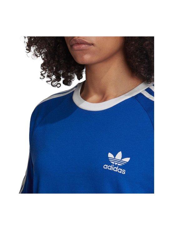 adidas Originals - 3 Stripe Tee -paita - TEAM ROYAL BLUE | Stockmann - photo 4