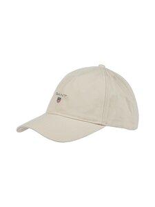 GANT - Cotton Twill Cap -lippalakki - 34 PUTTY | Stockmann