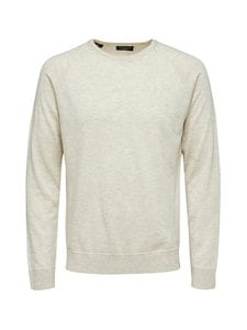 Selected - SlhMerlin Wool Crew Neck -mohair-silkkineuletakki - LIGHT GREY MELANGE | Stockmann