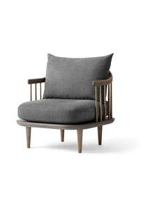 &tradition - Fly Chair SC10 -tuoli - SMOKED OILED OAK / DARK GREY | Stockmann