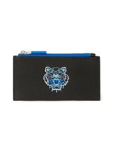 Kenzo - Ekusson Tiger Zipped Leather Card Holder -korttikotelo - BLACK | Stockmann
