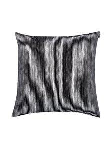 Marimekko - Varvunraita-tyynynpäällinen 50 x 50 cm - MUSTA | Stockmann