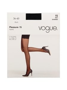 Vogue - Pleasure 15 den -sukkahousut - BLACK   Stockmann