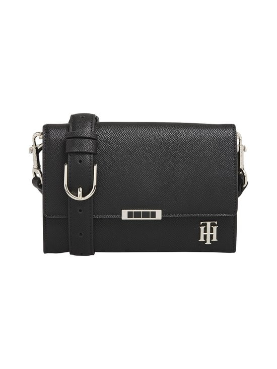 Tommy Hilfiger - Saffiano Crossover -laukku - BDS BLACK | Stockmann - photo 1