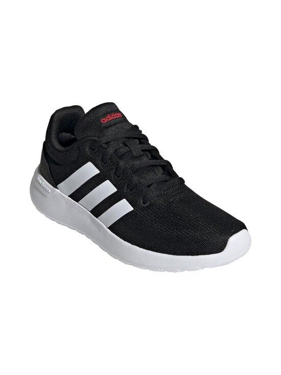 adidas Performance - Lite Racer -sneakerit - CBLACK/FTWWHT/SCARLE | Stockmann - photo 6