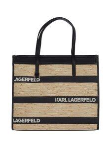 Karl Lagerfeld - K/Skuare Large Logo Tote -laukku - A999 BLACK   Stockmann