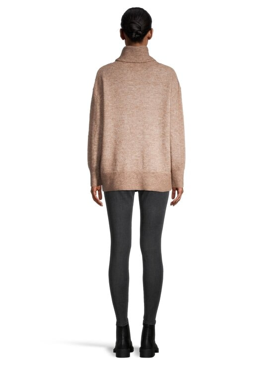 cut & pret - Skylar Loose Rolled Collar -pooloneule - TAUPE MELANGE | Stockmann - photo 3