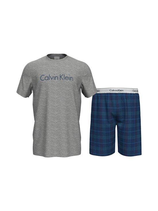 Calvin Klein Underwear - Pyjama - JVV GREY H TOP/ SOMERSET PLAID BOTTOM   Stockmann - photo 1