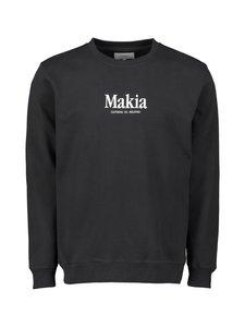 Makia - Strait-collegepaita - BLACK 999 | Stockmann