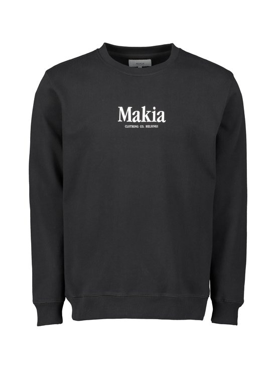 Makia - Strait-collegepaita - BLACK 999 | Stockmann - photo 1