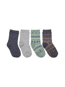 Name It - NmmWak Wool -sukat 4-pack - OMBRE BLUE | Stockmann
