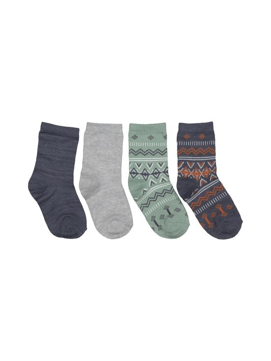 Name It - NmmWak Wool -sukat 4-pack - OMBRE BLUE | Stockmann - photo 1