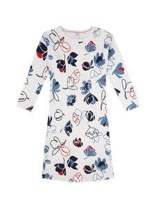 Sanetta - Teens Girl Night Dress Ethno Flower -yömekko - 1948 WHITE PEBBLE   Stockmann