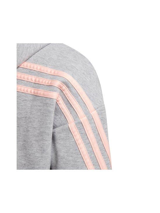 adidas Performance - 3-Stripes Full-Zip -hupparitakki - MGREYH/HAZCOR | Stockmann - photo 5