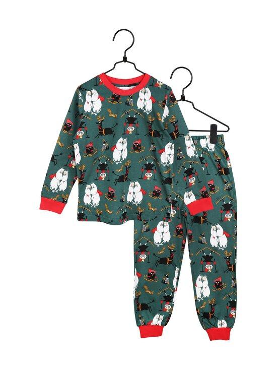 Muumi - Vaarallinen talvi -pyjama - GREEN | Stockmann - photo 1