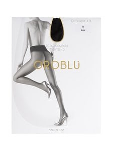Oroblu - Different Total Comfort 40 den -sukkahousut - BLACK (MUSTA) | Stockmann