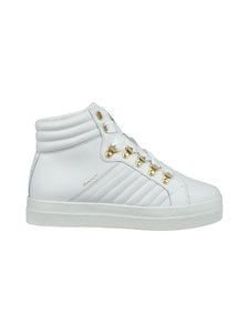 GANT - Avona-nahkasneakerit - G290 BRIGHT WHITE | Stockmann