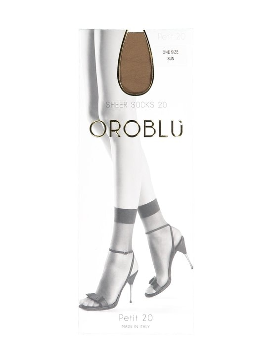 Oroblu - Petit 20 den -nilkkasukat - SUN | Stockmann - photo 1
