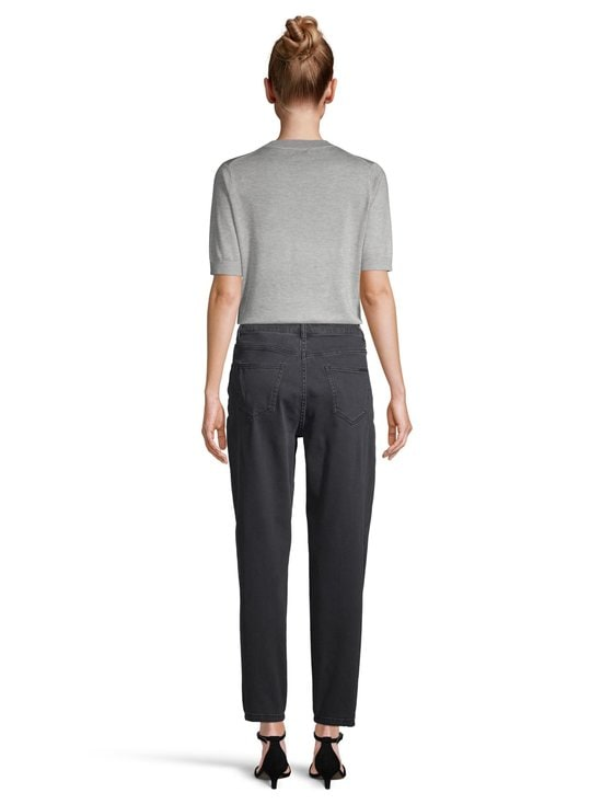 NOOM - Early Mom Jeans Cropped -farkut - WASHED BLACK DNM | Stockmann - photo 3