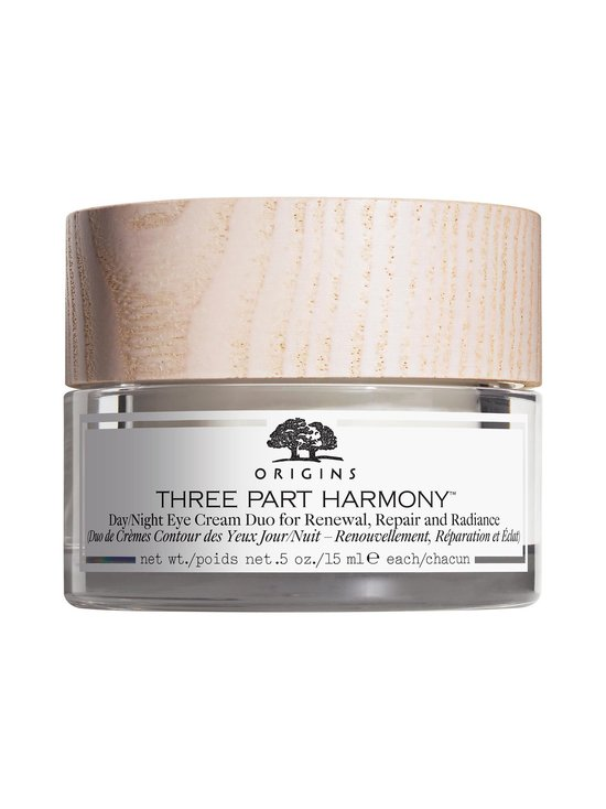 Origins - Three Part Harmony™ Day & Night Eye Cream Duo For Renewal, Repair and Radiance -silmänympärysvoide 30 ml - null | Stockmann - photo 1