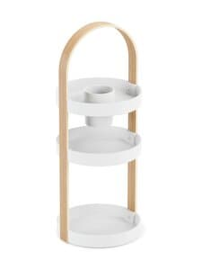 Umbra - Bellwood Cosmetic Organizer -teline 50 x 20 cm - WHITE/NATURAL | Stockmann