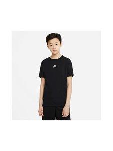 Nike - REPEAT TEE -paita - 010 BLACK/WHITE | Stockmann