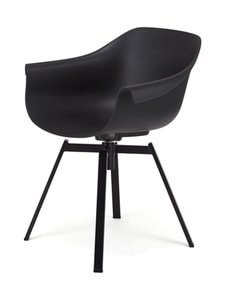 Muubs - Swiwel-tuoli 56 x 77 x 63 cm - BLACK | Stockmann