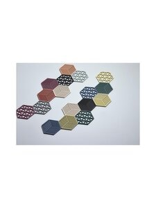 Zone - Hexagon-pannunalunen 16 x 14 cm - WARM GREY | Stockmann