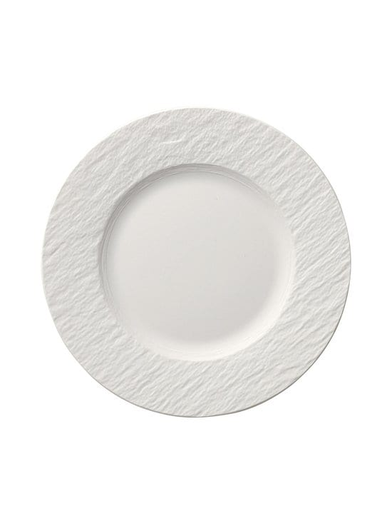 Villeroy & Boch - Manufacture Rock Blanc -lautanen 22 cm - WHITE | Stockmann - photo 1