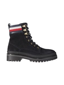 Tommy Hilfiger - Rugged Classic Lace-Up Flat Boot -mokkanahkanilkkurit - DW5 DESERT SKY | Stockmann