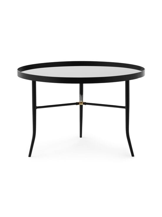 Normann Copenhagen - Lug Table Large -pöytä 44,5 x ⌀ 68 cm - BLACK | Stockmann - photo 1