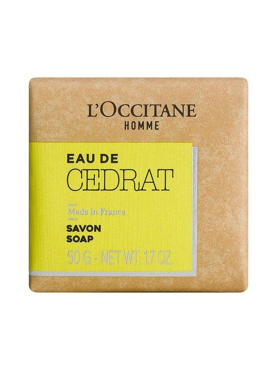 Loccitane - Cedrat Soap -palasaippua 50 g - NOCOL | Stockmann - photo 1