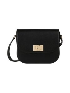 Furla - 1927 S Shoulder Bag -nahkalaukku - O6000 NERO | Stockmann
