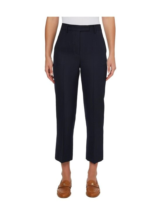 Tommy Hilfiger Collection - HCW CROPPED TAILORED PANT -housut - DY4 YALE NAVY | Stockmann - photo 2