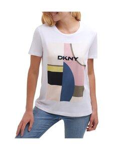 Dkny - T-paita - WHITE/ICONIC BLUSH | Stockmann