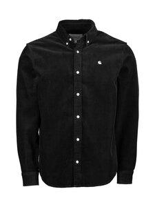 Carhartt WIP - Madison Cord Shirt -kauluspaita - BLACK / WAX   Stockmann