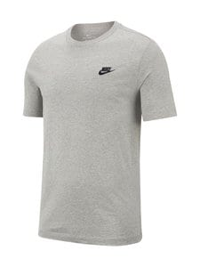 Nike - T-paita - 064 DK GREY HEATHER/BLACK | Stockmann