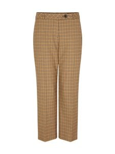 Comma - Housut - 88N3 BROWN HOUNDSTOOTH | Stockmann
